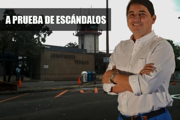 Andrés Hurtado, aeropuerto Perales, Ibagué