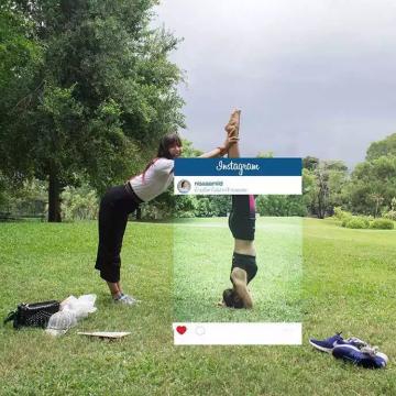 qué hay detrás de las fotos publicadas en Instragram